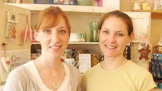 Co-owners Kara Salmin, left, and Erica Bernardi of