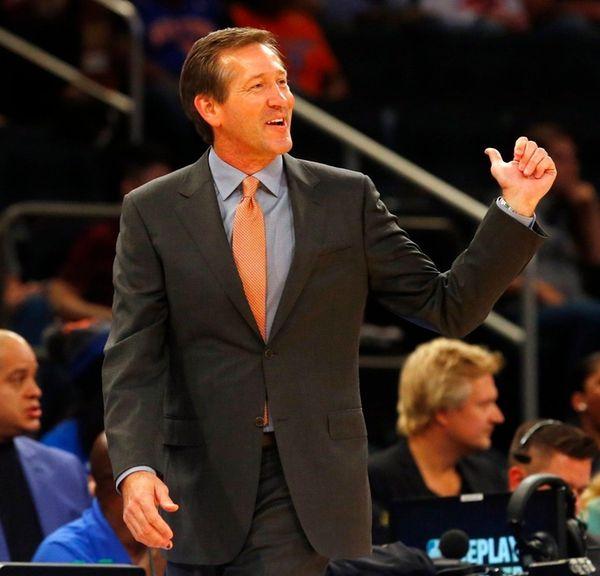 Coach Jeff Hornacek of the New York Knicks