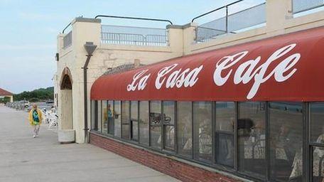 The exterior of La Casa Cafe at 445