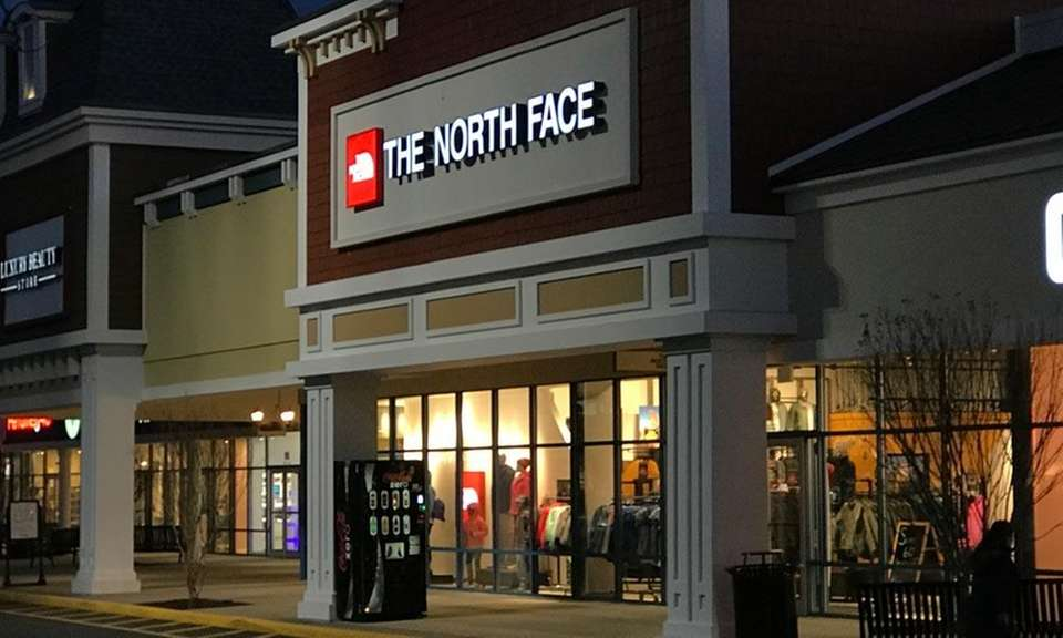 Outdoor clothing store The North Face opened its