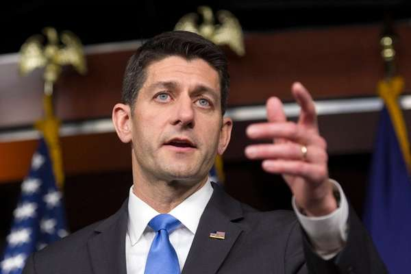 House Speaker Paul Ryan on Monday told GOP