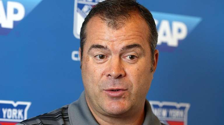 Rangers coach Alain Vigneault discusses the start of
