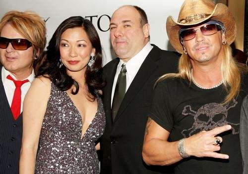 Rikki Rockett, Deborah Lin, James Gandolfini and Bret