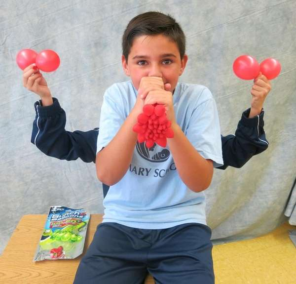 Kidsday reporter Anthony Fudjinski (with a little help