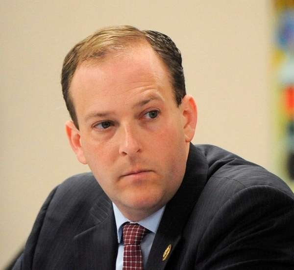 Freshman Republican Rep. Lee Zeldin of Shirley attends