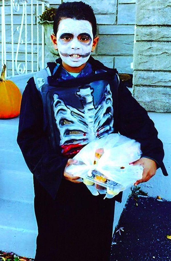 Kidsday reporter Isiah Gutierrez of North Babylon dressed