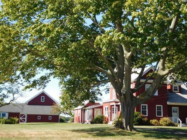 This five-bedroom Jamesport home has modern updates along