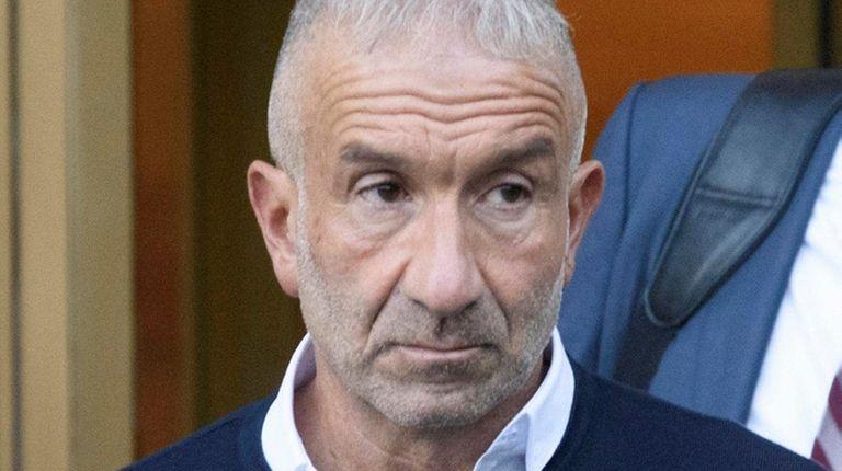 Alain Kaloyeros resigned Tuesday, Oct. 11, 2016, as