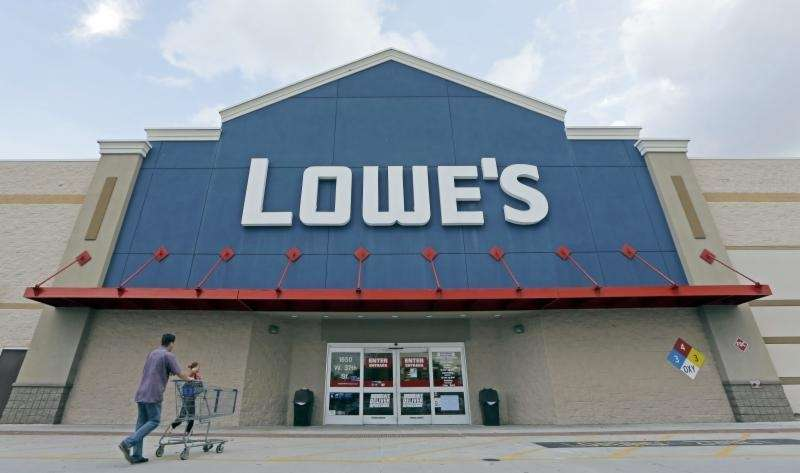 Lowe's locations include stores in Farmingdale, Garden City
