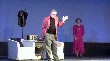 Angelo DiBiase as George Burns and Emily Nadler