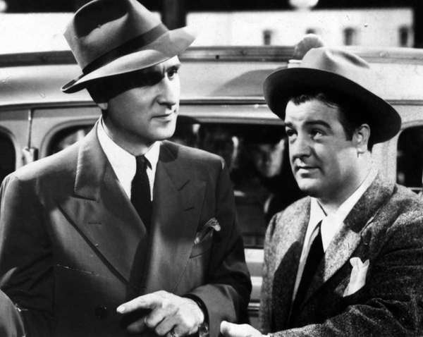 Abbott and Costello are shown in an
