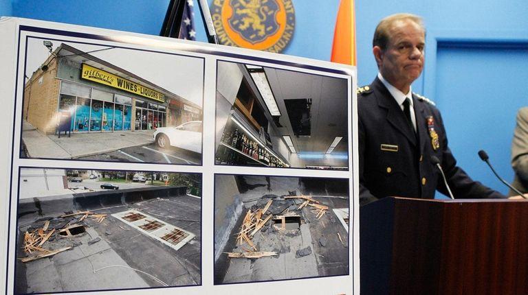 Nassau Chief of Department Steven Skrynecki speaks about