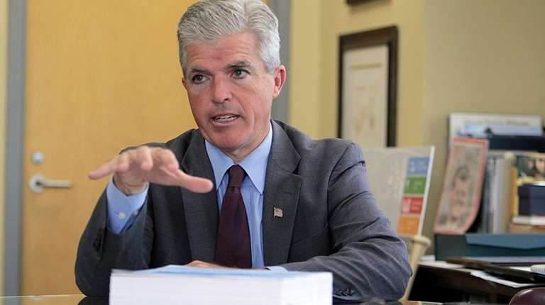 Suffolk County Executive Steve Bellone said he would