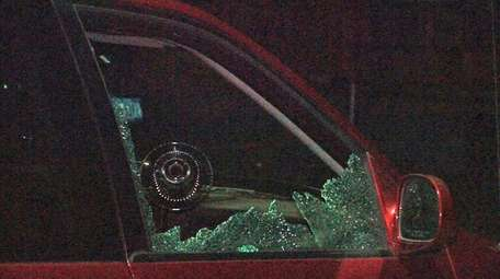 Suffolk County police said they are investigating vandalism