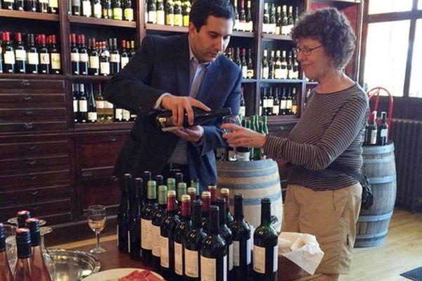 Michael Amendola, wine director at The Village Wine