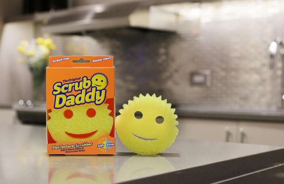 This tiny yet powerful scrubbing sponge changes texture