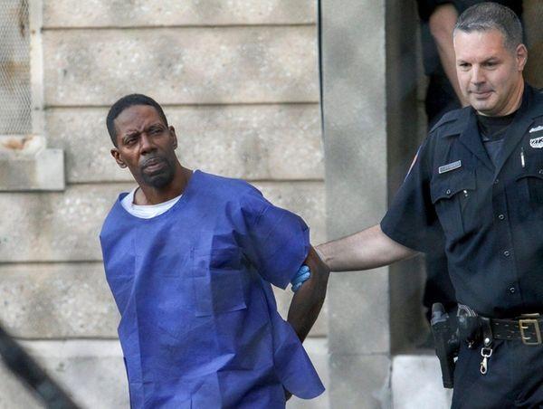 Eric Barnett, 50, of Elmont, who was arrested