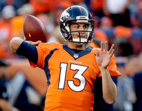 Broncos quarterback Trevor Siemian is expected to