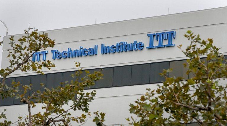 An ITT Technical Institute campus in Orange. Melville-based