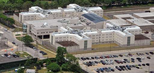 This aerial view shows the Nassau County Jail