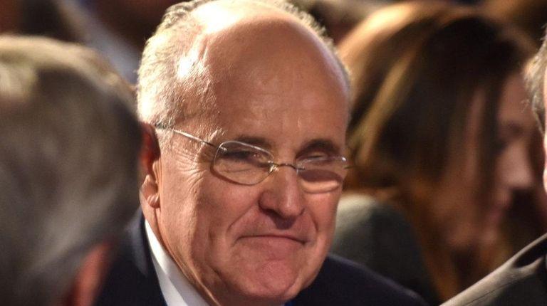 Former New York City Mayor Rudy Giuliani says