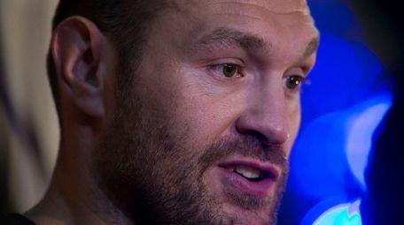 Britain's Tyson Fury, the heavyweight world boxing