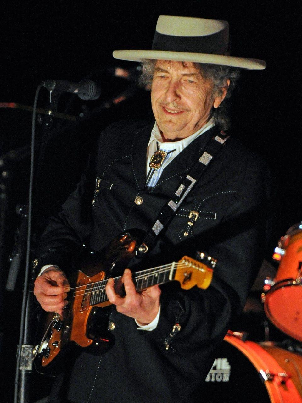 Bob Dylan performs April 25, 2011, during a