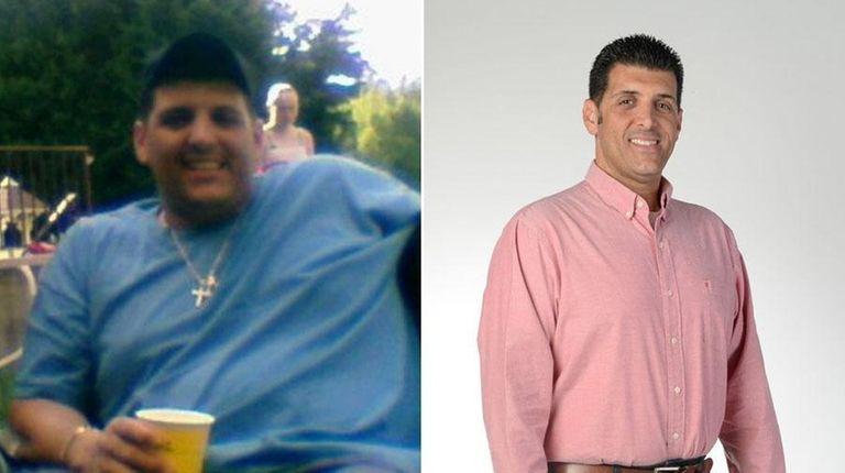 Michael Ferrara, 46, of Selden, is pictured in