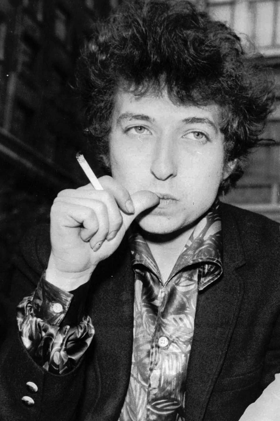 Singer-songwriter Bob Dylan in London on April 27,