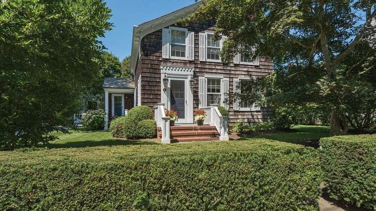 This Sag Harbor home was built for the