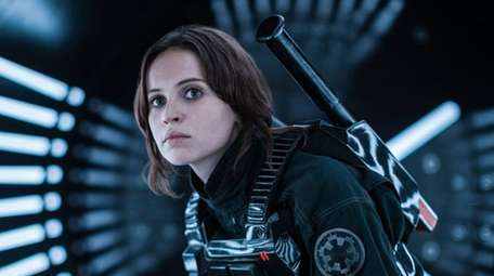 Felicity Jones stars as Jyn Erso in
