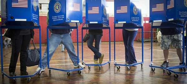 Several Long Island locations are hosting voter-registration events