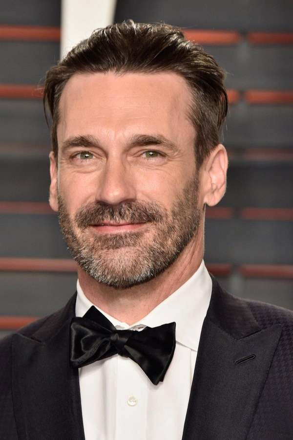 Actor Jon Hamm attends a Vanity Fair Oscar