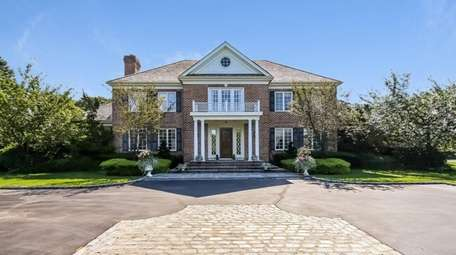 The lower level of this six-bedroom home has