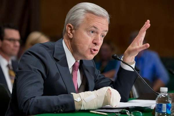 epa05549463 Chairman and CEO of the Wells Fargo