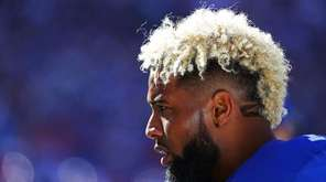 Giants receiver Odell Beckham Jr. must continue