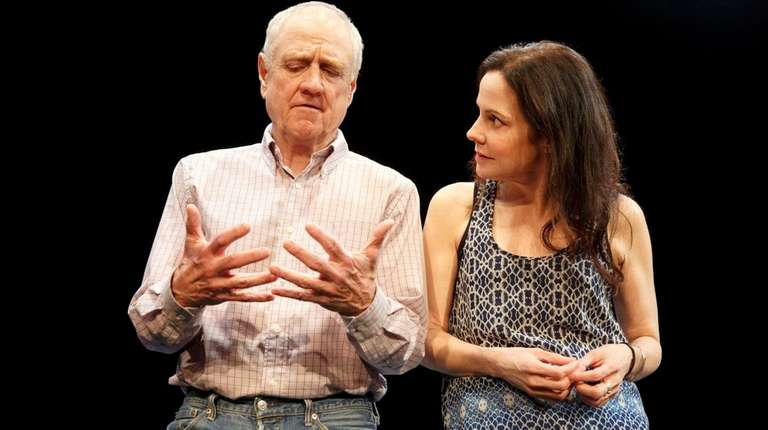 Denis Arndt, left, stars with Mary-Louise Parker in