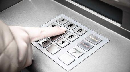 An ATM.