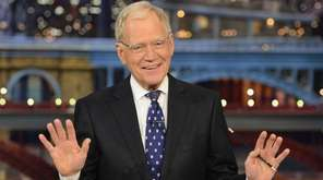 David Letterman hosts his final broadcast of the