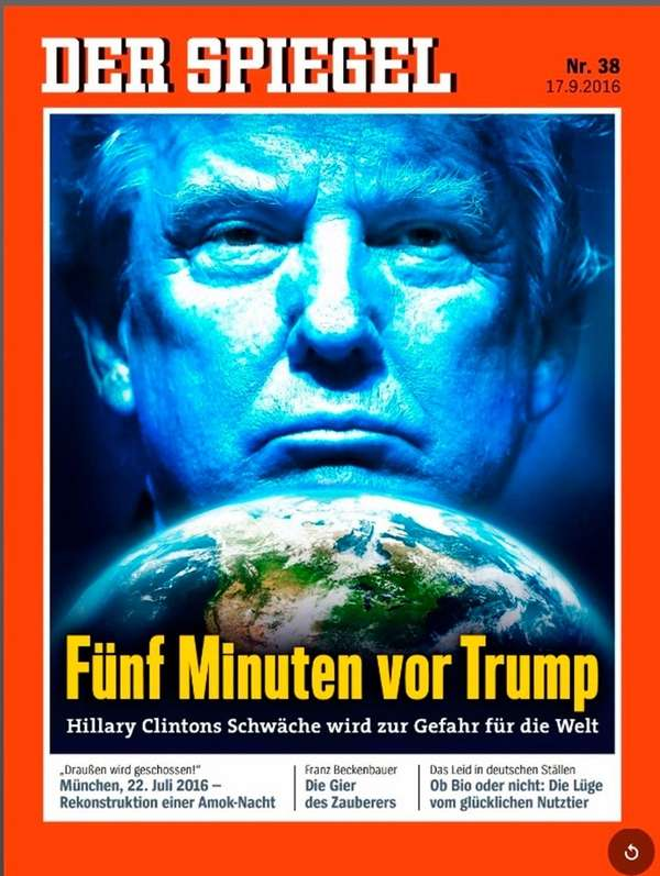 Presidential race is viewed warily by foreign media newsday for Magazin der spiegel