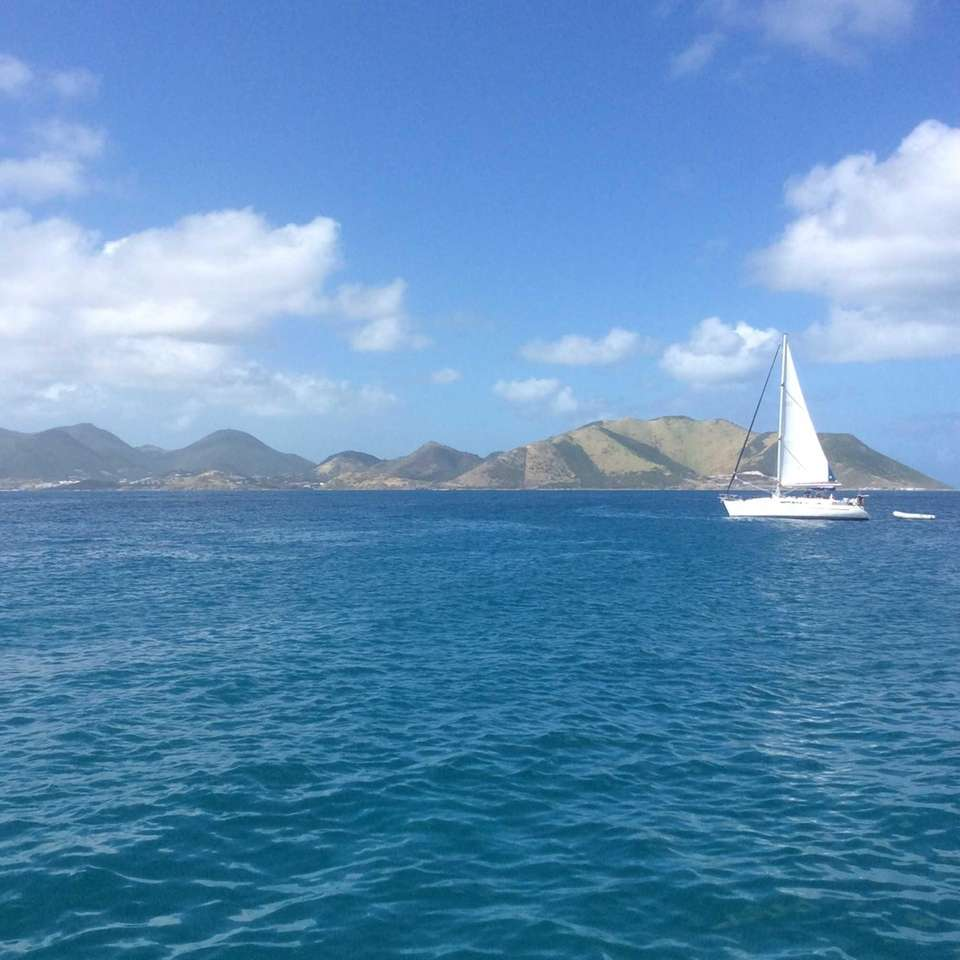 Sailing in the Caribbean in the winter