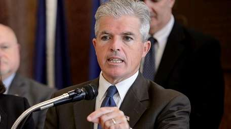 Steve Bellone, Suffolk County Executive, speaks in support
