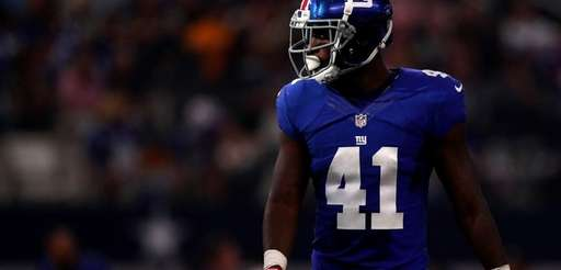 Dominique Rodgers-Cromartie of the New York Giants