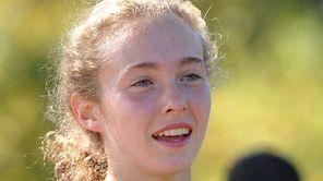 Brianna O'Brien of Wheatley won the varsity Girls