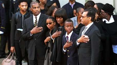 Brooklyn District Attorney Kenneth Thompson was remembered at