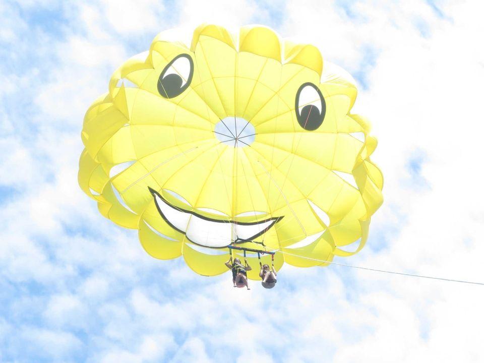 Christine Valente & Jessica Mobilio Flying High Parasailing