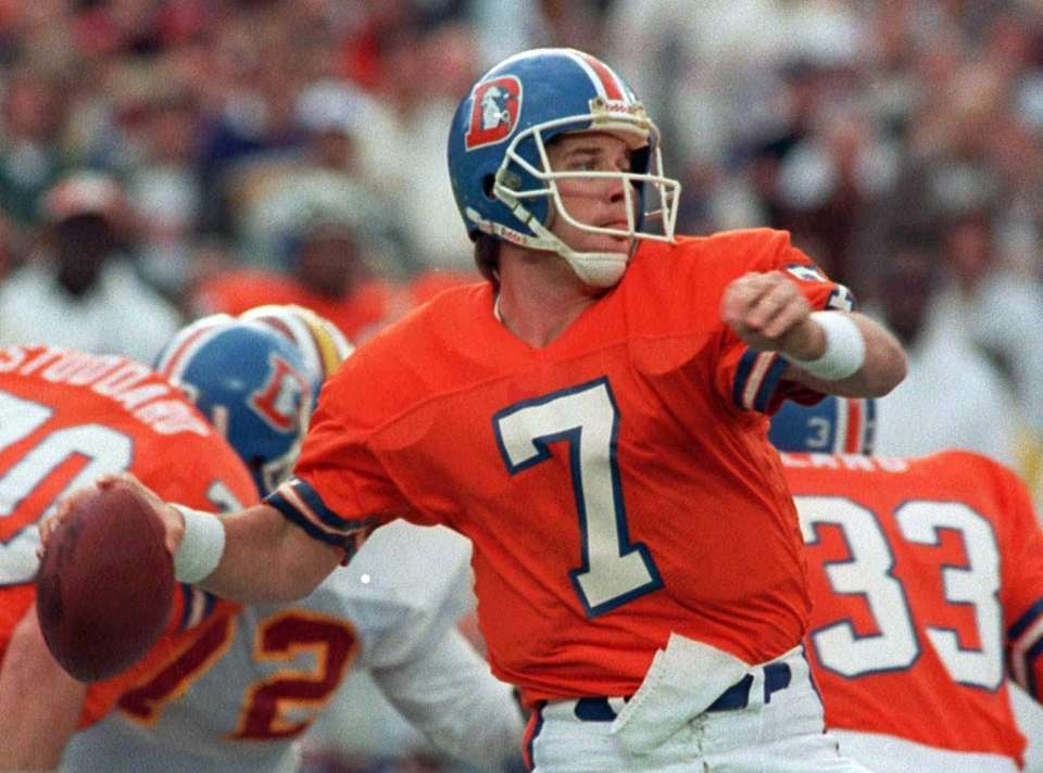 300 career passing TDs Denver Broncos (1983-98)