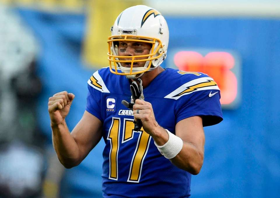 374 career passing TDs (San Diego Chargers, 2004-present)