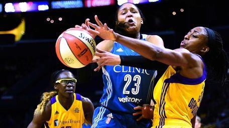 Forward Maya Moore of the Minnesota Lynx has