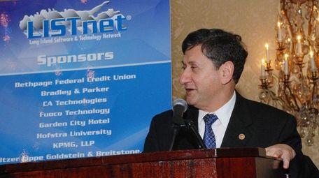 Yacov Shamash, Stony Brook University's vice president for